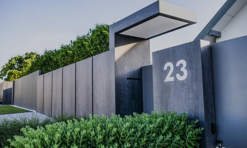 Nowoczesne Oryginalne Ogrodzenia Aluminiowe Z Betonu I Innych